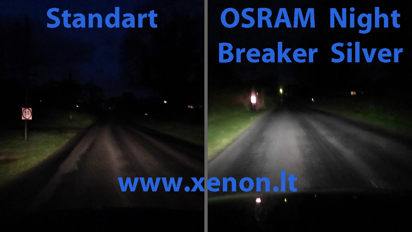 OSRAM H7 Night Breaker SILVER +100-2