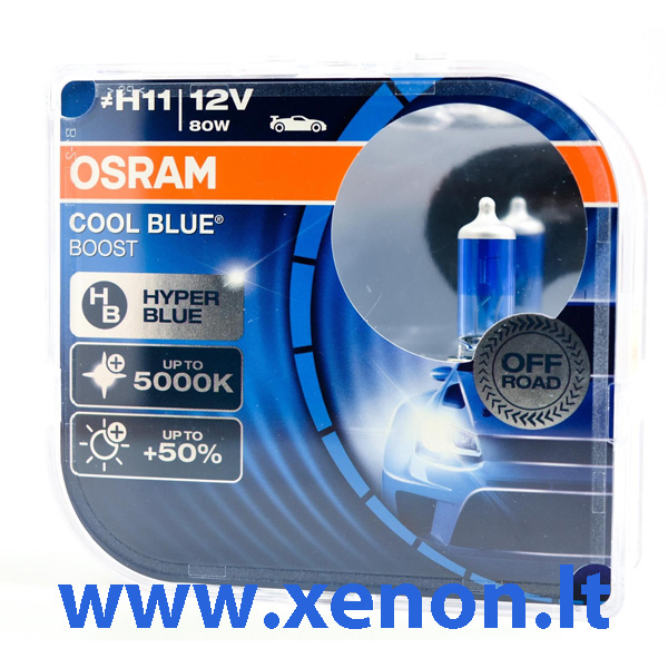 OSRAM H11 Cool Blue Boost lemputės-2